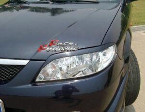 Fit For Mazda 2001-2003 Protege 323 Jdm Sport Headlights Eyebrow Eyelids