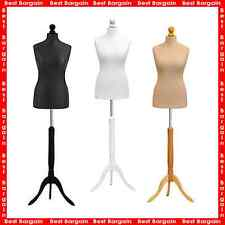 STUDENT DRESSMAKER |FEMALE TAILORS DUMMY | DISPLAY BUST | MANNEQUIN | SIZE 6-18