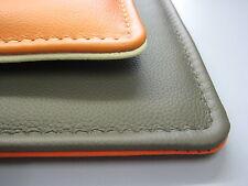 Wende-/Sitzkissen,Stuhlauflage in Leder nach Maß 43-46 x 43-46 cm in 24 Farben