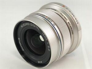 OLYMPUS Single Focus Lens M.ZUIKO DIGITAL ED 12mm F2.0 Black f2.0 Silver