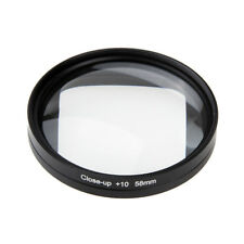 58mm Magnifier 10x Magnification Macro Close Up Lens for Gopro Session