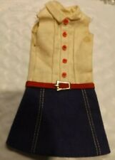 Vintage Skipper Doll Clothes - Vintage Skipper 1912 Cookie Time Dress
