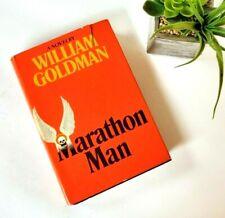 1/1 Marathon Man Goldman HB FIRST ed 1st Ptg Stated Delacorte 1974 Book Cassidy