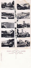1950's MULTI VIEWS OF THE ISLE OF WIGHT UNUSED REAL PHOTOGRAPH POSTCARD (a)
