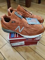 New Balance 990v4 Jupiter Orange M990JP4 Burnt New Men's Size 11 USA v4 NB