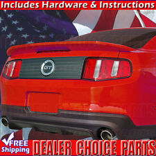2010-2014 Ford MUSTANG Shelby GT500 OEM Factory Style Spoiler Wing PAINTABLE
