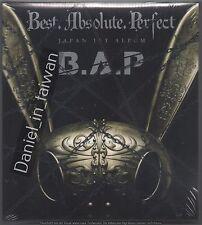B.A.P: Japan 1st Album - Best Absolute Perfect 2016 Bap CD & DVD & CARD TAIWAN