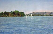 Trio of Sailboats, SML (14.25 x 20.75) --Giclee Print by Shelley Koopmann