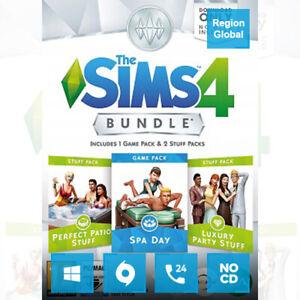 The Sims 4 Bundle Pack 1 DLC for PC Game Origin Key Region Free