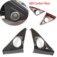 Carbon fiber ABS Water Cup Holder Cover For Land Rover Range Rover Evoque 2020