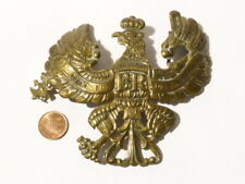 Antique German Picklehaube Spiked Helmet Military Badge Prussian a/f #B1 *
