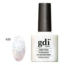 GDI NAILS DIAMOND GLITTERS K20 MOONLIGHT BEDAZZLED UV LED SOAK GEL NAIL POLISH