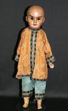 Antique Oriental Papier Mache Doll