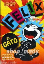 Felix el Gato Colección Completa en Español Latino mas de 90 Episodios en 4 DVDs