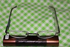 MAGNIVISION READERS  BY FOSTER GRANT(BRONZE)+2.50 TUBE CASE INCLUDED