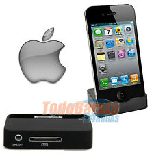 Soporte Dock Base de Carga Sincronizacion iPhone 4 4g