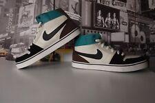 OG 2010 Nike Men's Ruckus Mid Skateboarding Shoes 387174-100 US Men's 9 EU 42.5