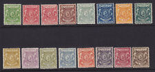 B.E.A Scott # 72 - 87 set F-VF OG hinged nice color cv $ 600 ! see pic !