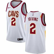 Kyrie Irving Cleveland Cavaliers Nike Youth Small 8 White Jersey NBA Dri Fit $70