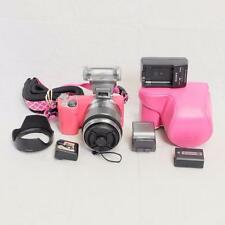 Sony NEX-5R Mirrorless Camera w/18-55mm Lens & EXTRAS - CLEAN! (7492)