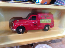 "Nice 1/43 VANGUARD CORGI Morris Minor Van Royal Mail ""postcode"" Made in England"