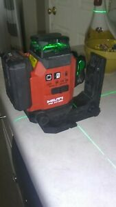 Hilti PM 30-MG LASER LEVEL, battery B12 4.0 & Mount only. ( No Charger or Case)