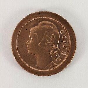 Guinea Bissau 5 Centavos 1933 - 100k Minted - Uncirculated - Bronze Coin