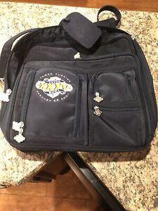 Vintage Super Bowl XXXV 2001 Ravens vs Giants Embroidered Travel Messenger Bag
