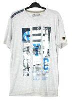 Urban Apparel Smith & Jones Mens Grey NYC T-Shirt Tee