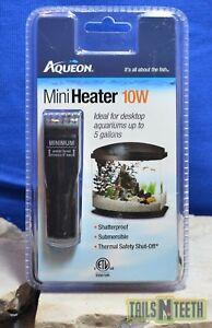 Aqueon Aquatic Mini Heater 10w for Aquariums up to 5 Gallons