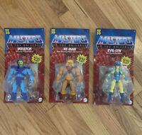 Masters Of The Universe Origins Lot He-Man Evil-Lyn Skeletor MOTU Bundle Of 3