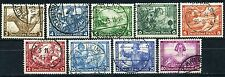 Dt. Reich Nothilfe Wagner 1933 Michel 499-507 A (S8845)