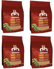 (4) Duckback SC0063102  8.44 oz Anti Skid Anti Slip Walnut Shell Paint Additive