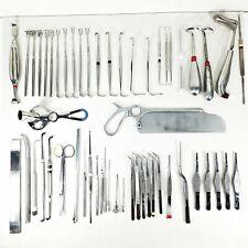 (Lot of 55) Misc Surgical Instruments V. Mueller, Sklar, Zimmer, Stryker, Storz
