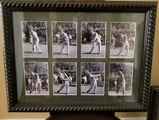 Ben Hogan Framed/matted 8 image downswing sequence