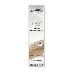 Clairol Soy4PLEX Creme Demi Permanent Hair Color 2 oz  **Choose Your Color**