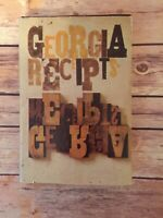 Georgia Press Association Cookbook, 1971 Georgia Receipts - Southern Cuisine