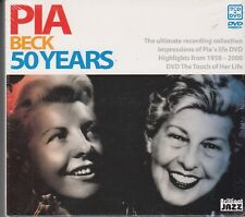PIA BECK 50 Years 3-DISC SET 2-CD & DVD SEALED DIGIPACK JAZZ VOCAL FREEPOST