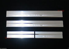 STAINLESS STEEL SCUFF PLATE SILL DOOR COVER FOR NISSAN X-TRAIL XTRAIL 2014 2015