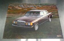 Mercedes dealer poster W123 300D