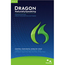 Dragon NaturallySpeaking 12 Premium Software mit Headset Mikrofon NEU