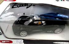 MONDO MOTORS 1:24 AUTO DIE CAST MONTATA PAGANI ZONDA F  NERA   ART. 51139