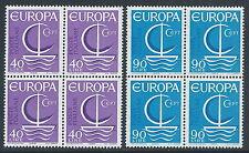 1966 ITALIA EUROPA QUARTINA MNH ** - ED-2