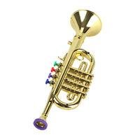 Trompette pour Enfants Instrument à Vent Trompette Corne Amusant à Jouer