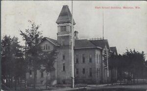 High School, Mauston, Wisconsin 1908