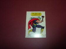 Marvel Comics Super Hero Sticker/card #13 1967 Philadelphia Gum PCGC
