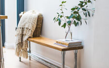 Rustic Industrial Style Bench / Custom Made to your size