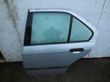 Tür in Silber hinten links BMW E36 Limousine