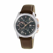 Reloj De Cuarzo Kenneth Cole KC10025916 para Hombre Multi-Función Dial Negro-RRP £ 169