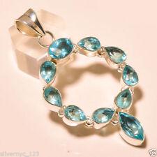Collares y colgantes de joyería colgantes topacio de belleza